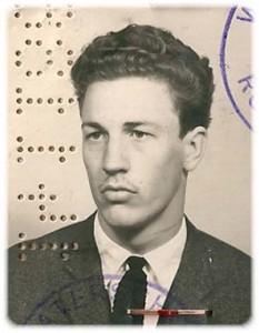 Pasfoto R.C. Visman - 1966